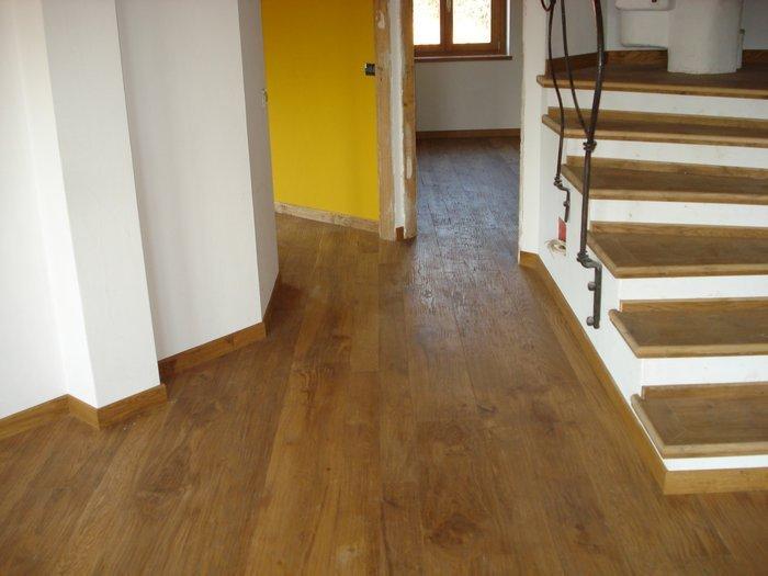 Pavimenti e scale in legno